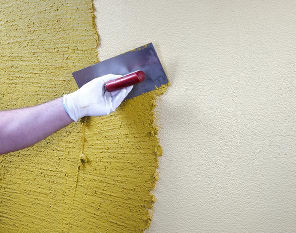 Как наносить штукатурку на стены