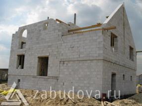 строим частный дом из блоков