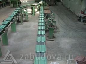 производство фронтонной цементно-песчаной черепицы