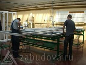 производство оконных рам в нашей компании