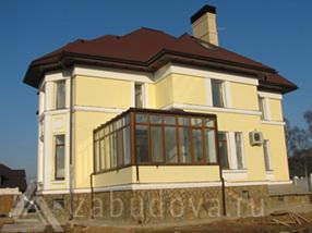 строительство дома и установка окон